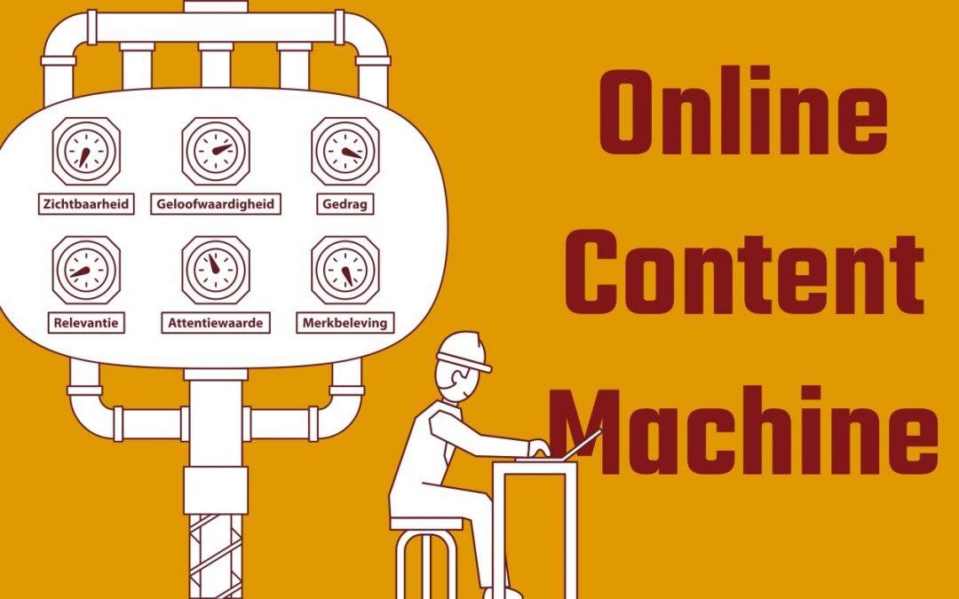 START DE ONLINE CONTENT MACHINE!